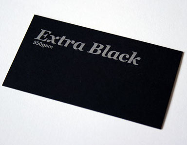 Recycled business cards australia brown kraft business cards premium extra black business cards 100 black stock reheart Images