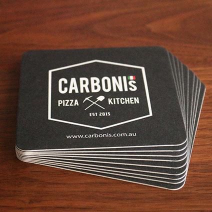 Custom promotional drink coasters australia custom printed beer coasters - Cardboard beer coasters ...