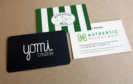 Recycled Business Cards Australia | Brown Kraft Business Cards ...