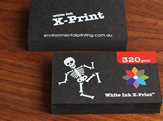 Custom wrapping paper printing australia greeting card printing white ink x print black business cards white ink or coloured ink reheart Image collections